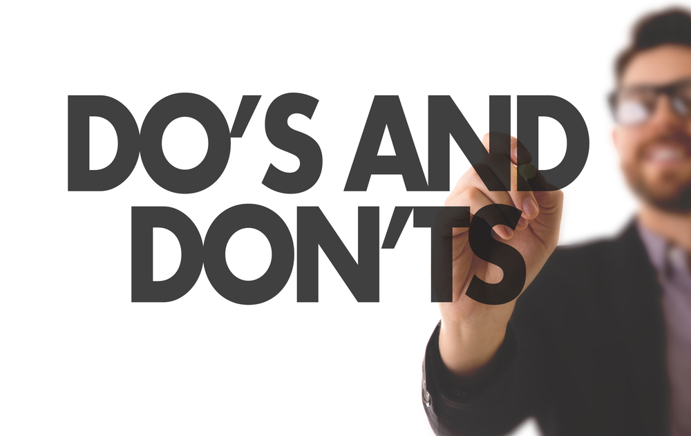 stock screener do's and don'ts