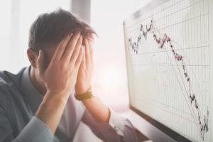 stocks falling