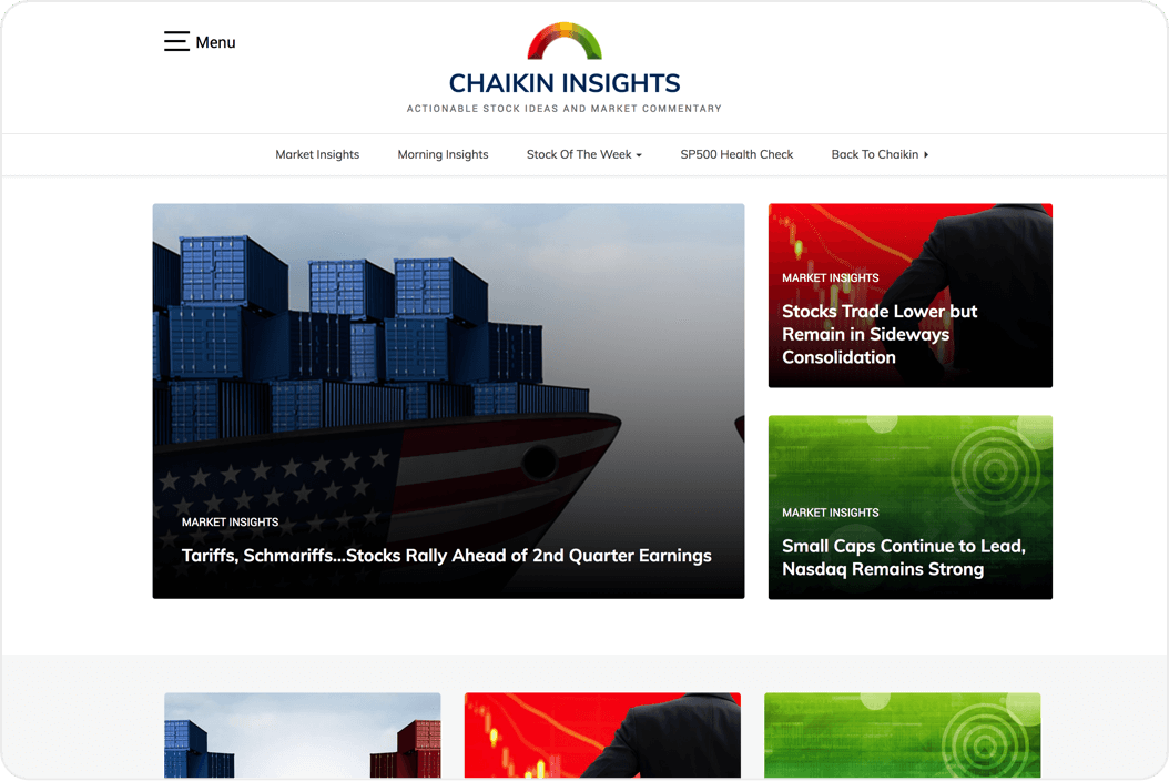 Chaikin Insights Newsletters