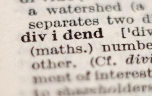 dividend definition