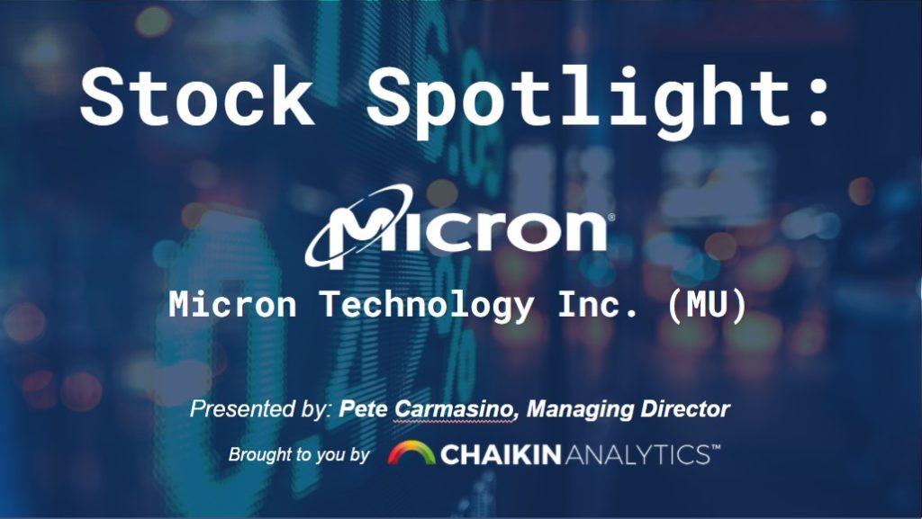 Micron Technology Inc.